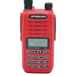 วิทยุสื่อสาร SPEEDER SP-IX5ด้านหน้าเสายาง