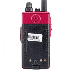 ด้านหลัง วิทยุสื่อสาร VERTEX FH-915 เสายางพร้อมแบตเตอรี่