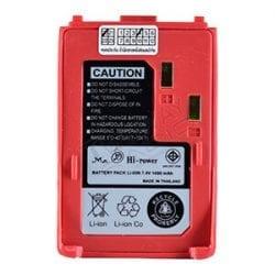 ด้านหน้าแบตเตอรี่ วิทยุสื่อสาร HI-POWER FB-580(Red)(W)