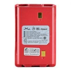 ด้านหน้าแบตเตอรี่ วิทยุสื่อสาร Hi-Power FB-6,MS-11,12(W)