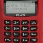 ปุ่มกดวิทยุสื่อสาร ALINCO DJ-VX20
